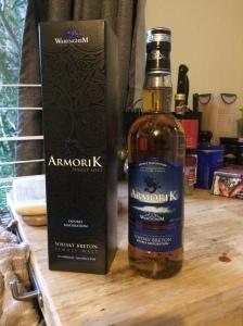 Armorik Double Maturation Box & Bottle